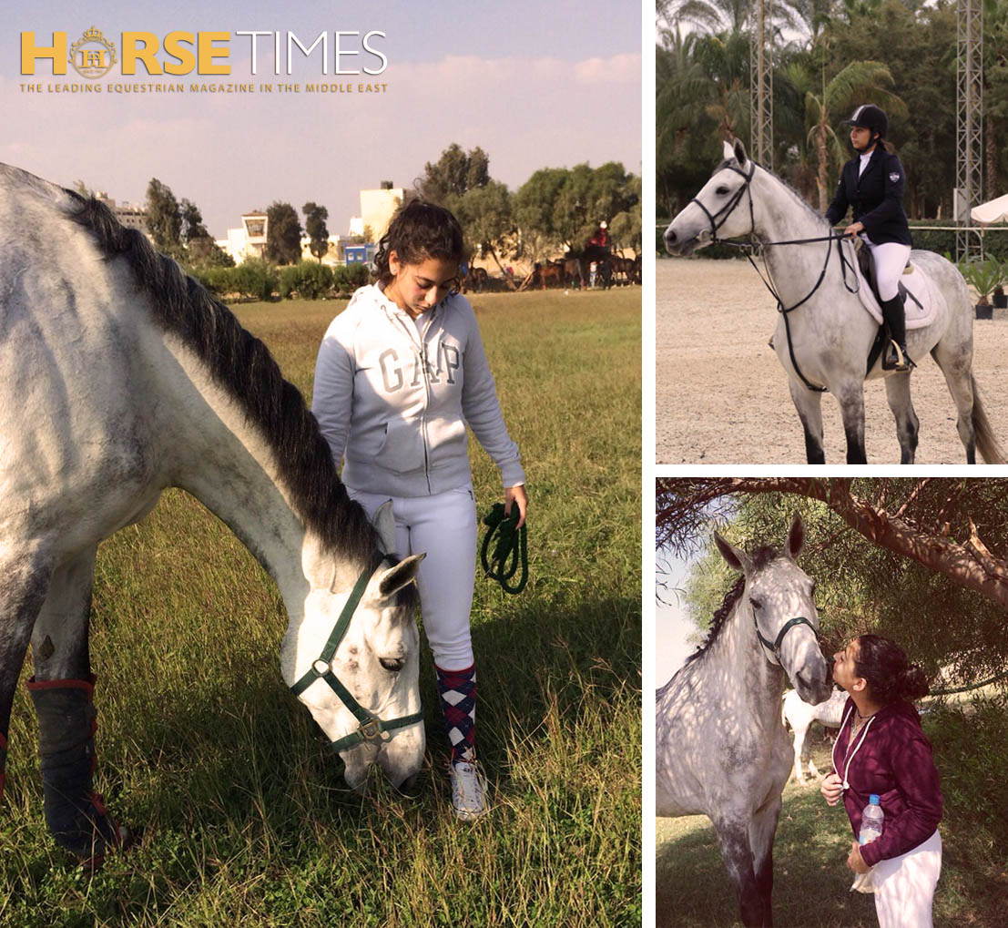 Horse Times Egypt: Equestrian Magazine :Riders Blog :FARIDA AND ALLEGRA
