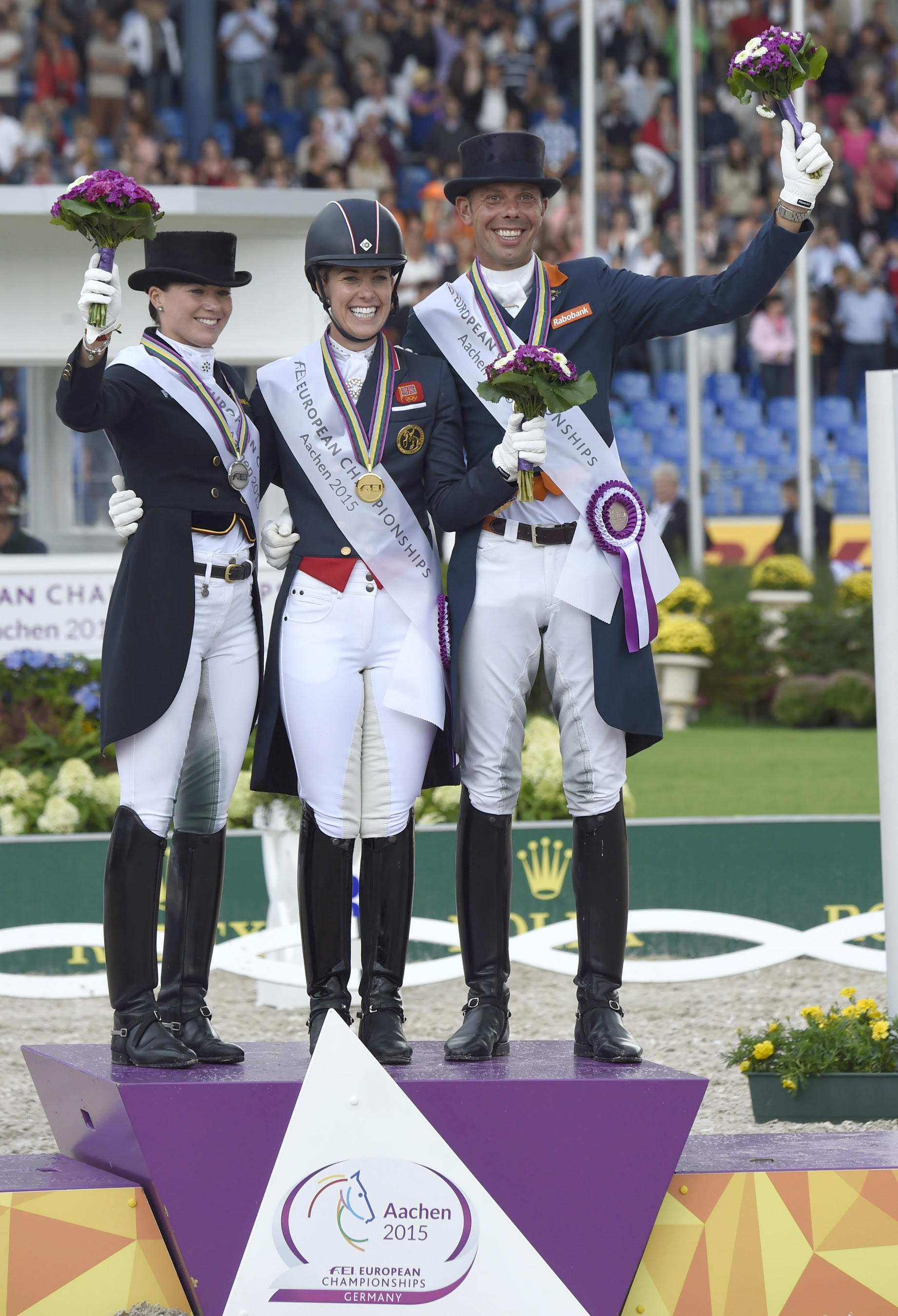 Horse Times Egypt: Equestrian Magazine :Event News :GREAT BRITAIN'S CHARLOTTE DUJARDIN AND VALEGRO WIN GOLD AND SET NEW EUROPEAN RECORD AT THE 2015 FEI EUROPEAN CHAMPIONSHIPS