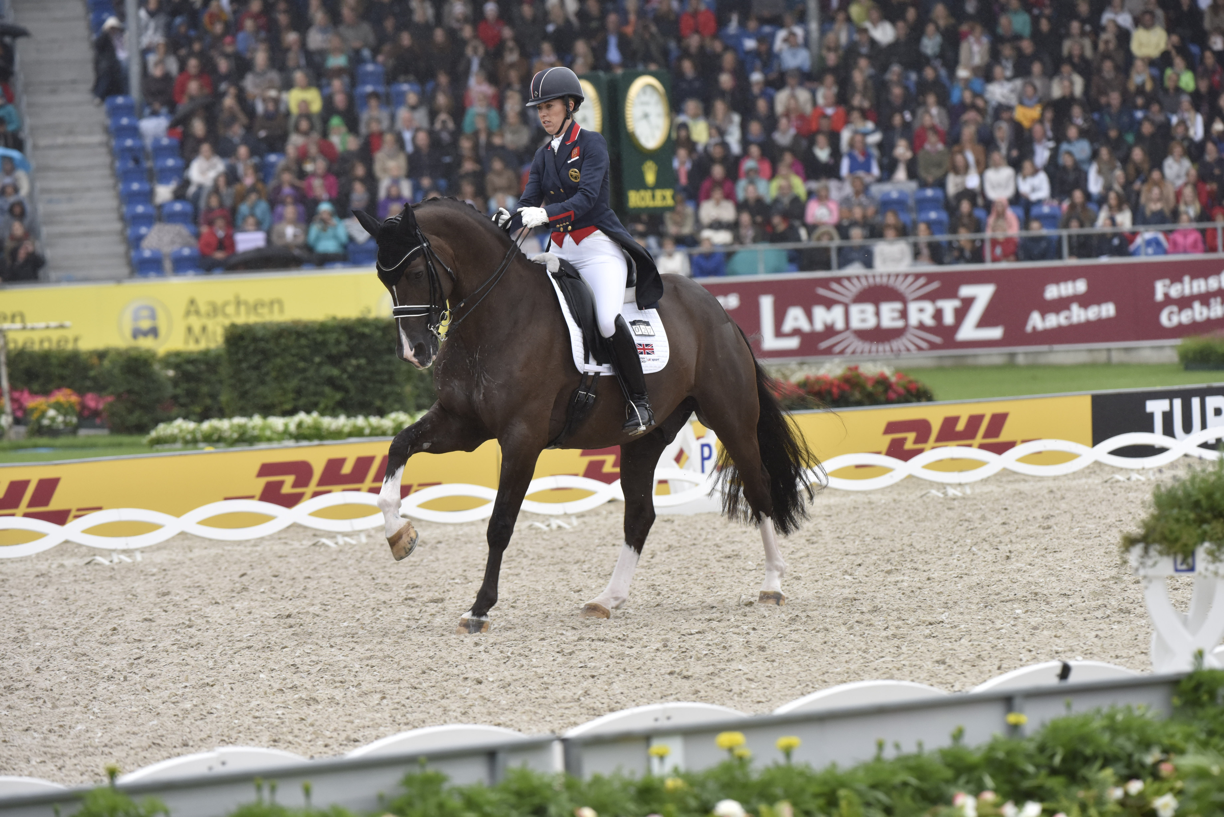 Horse Times Egypt: Equestrian Magazine :Event News :CHARLOTTE DUJARDIN AND VALEGRO REMAIN DOUBLE EUROPEAN CHAMPIONS  AFTER WINNING GOLD IN THE FREESTYLE AT THE 2015 FEI EUROPEAN CHAMPIONSHIPS