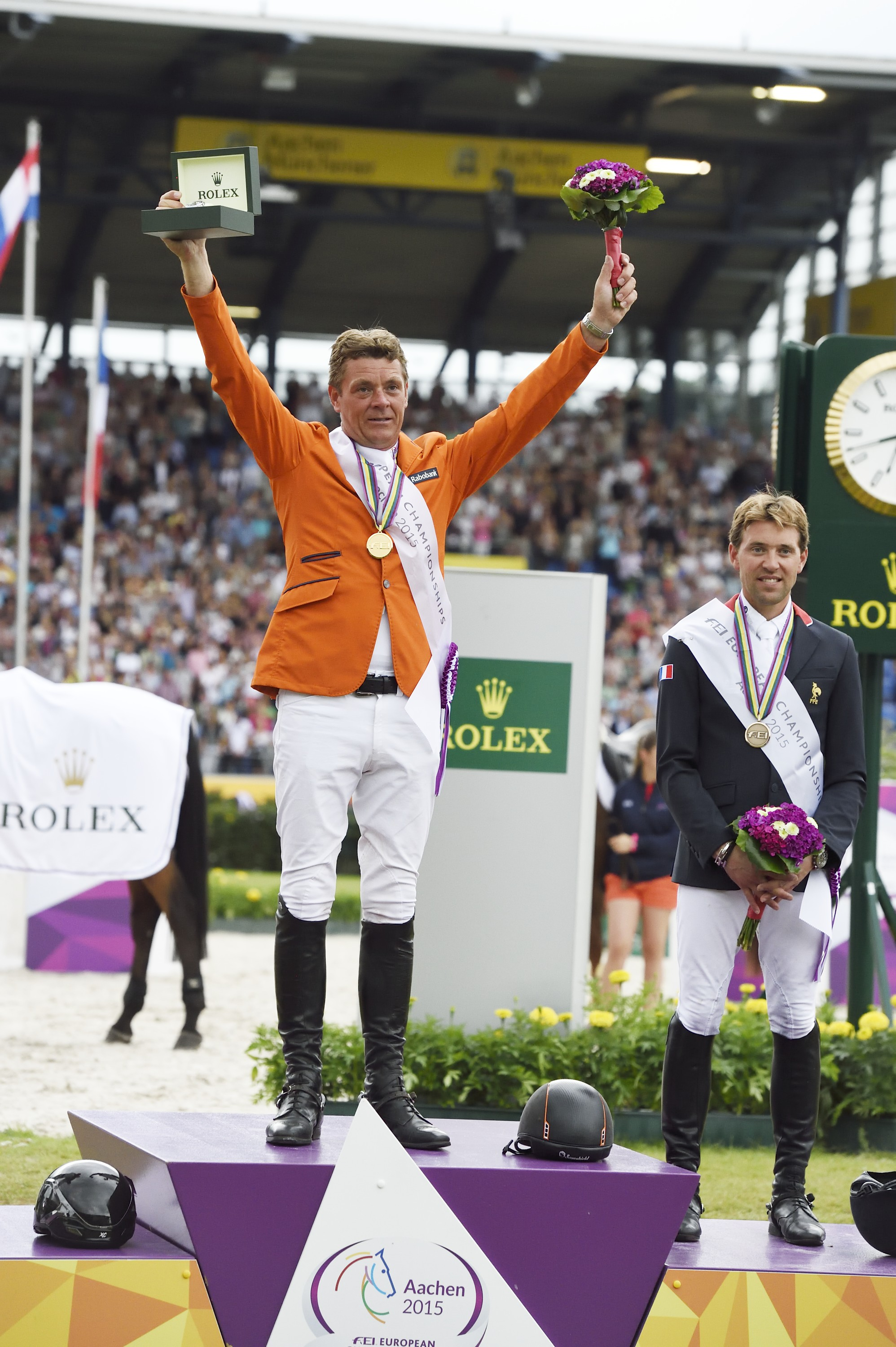 Horse Times Egypt: Equestrian Magazine :Event News :JEROEN DUBBELDAM WINS GOLD AT THE FEI EUROPEAN CHAMPIONSHIPS IN AACHEN. NOW HOLDS WORLD AND EUROPEAN TITLES CONCURRENTLY.