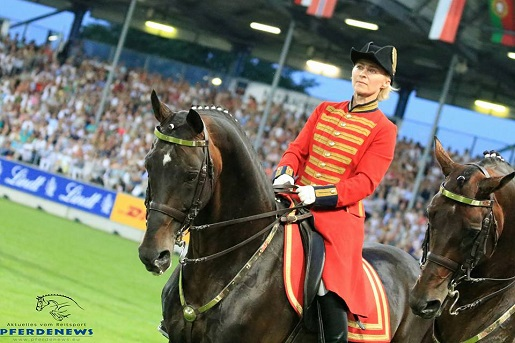 Horse Times Egypt: Equestrian Magazine :Event News :Opened Equestrian Championships Aachen 2015 with a great show: Big Feelings