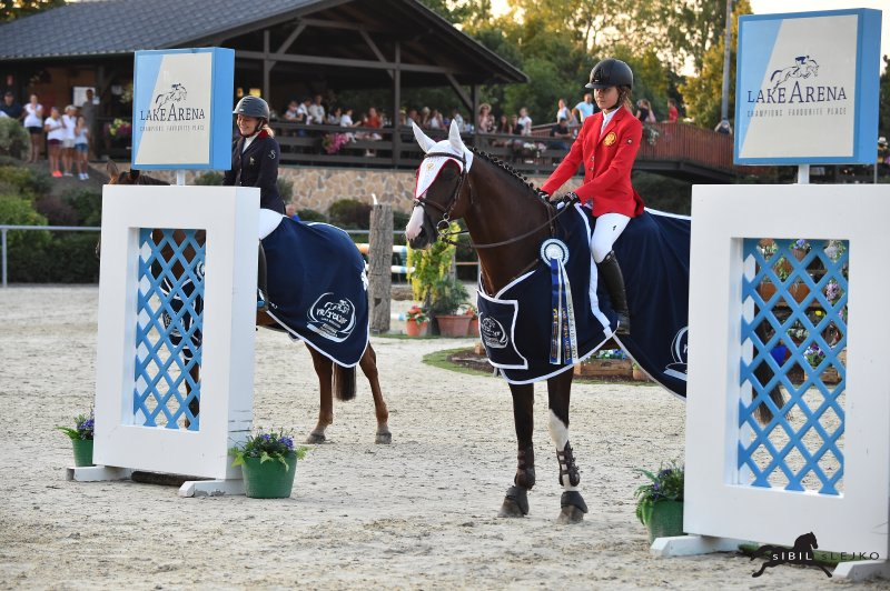 Horse Times Egypt: Equestrian Magazine :Event News :Russia and France were victorious at the opening of the Children-EM