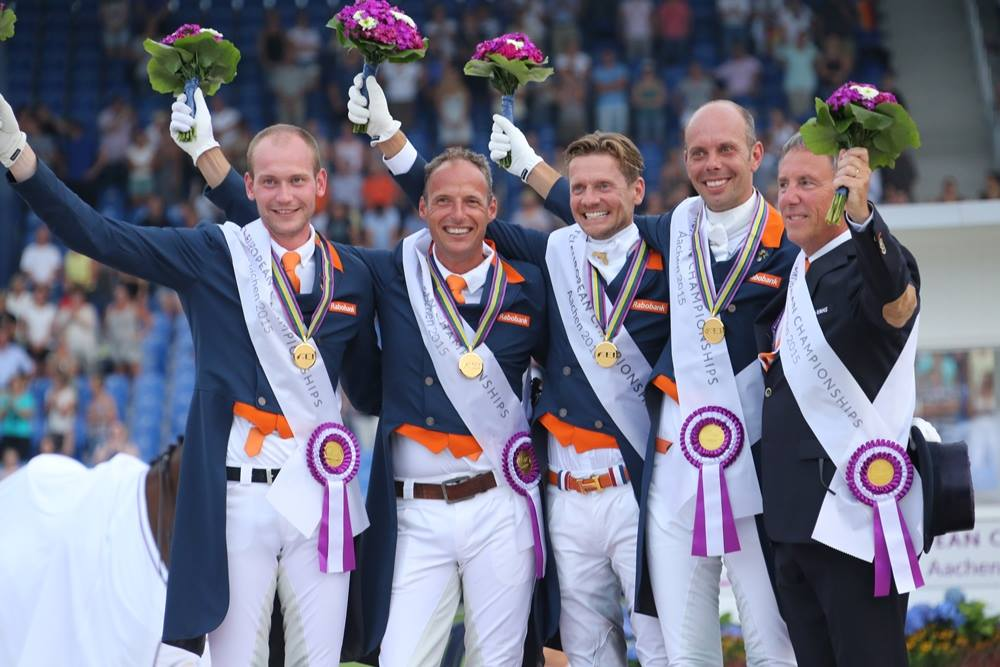Horse Times Egypt: Equestrian Magazine :Event News :Team Gold for the Netherlands