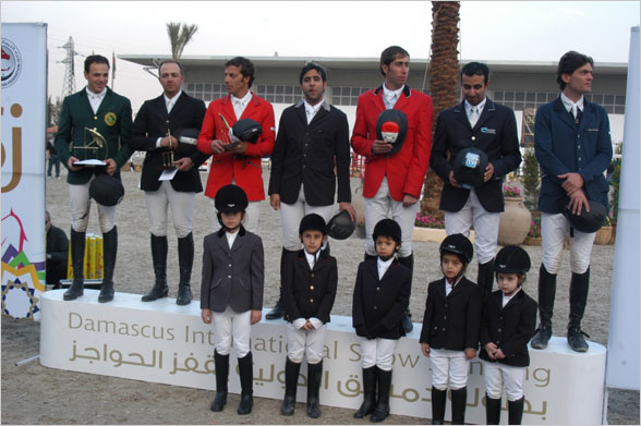 Horse Times Egypt: Equestrian Magazine :News :Competition 7 FEI World Cup, Syria December 1 - 4