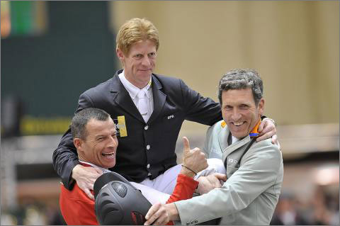 Horse Times Egypt: Equestrian Magazine :News :DOUBLE CELEBRATION FOR GERMAN GUN MARCUS EHNING