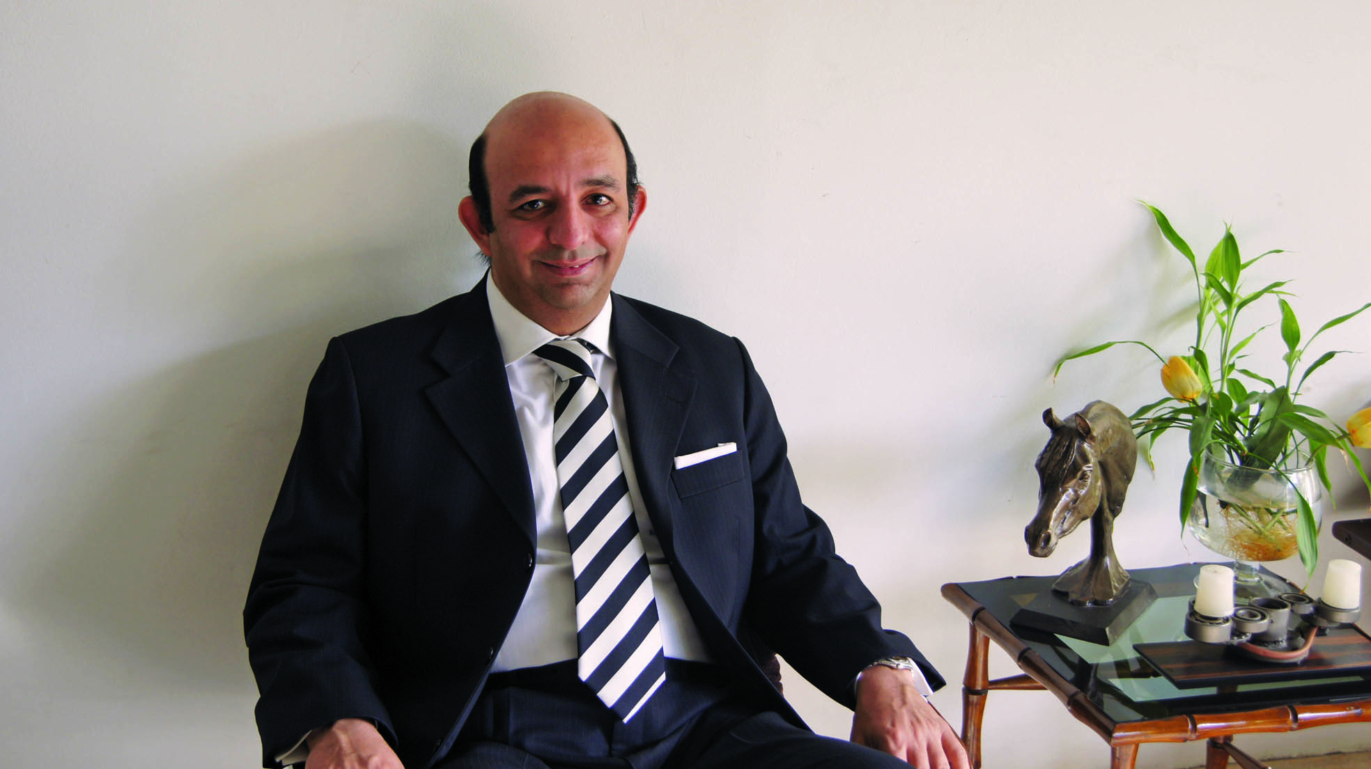 Horse Times Egypt: Equestrian Magazine :News :DR. ABOUBAKR HASHEM HOME IS WHERE THE HORSES ARE