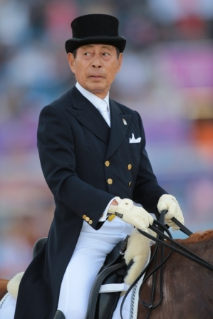 Horse Times Egypt: Equestrian Magazine :News :HIROSHI HOKETSU STILL IN THE SADDLE