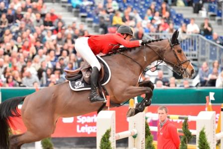 Horse Times Egypt: Equestrian Magazine :News :PENELOPE LEPREVOST DRIVES AWAY WITH A CITROEN DURING THE PARTNER PFERD FEI WC QUALIFER IN LEIPZIG