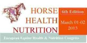 "Horse Times Egypt: Equestrian Magazine :News :SIXTH EUROPEAN EQUINE HEALTH & NUTRITION CONGRESS ""FEEDING FOR GASTROINTESTINAL HEALTH"""