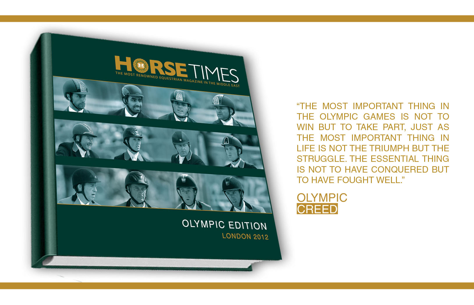 Horse Times Egypt: Equestrian Magazine :News :LAUNCH OF HORSE TIMES LONDON 2012 OLYMPIC EDITION
