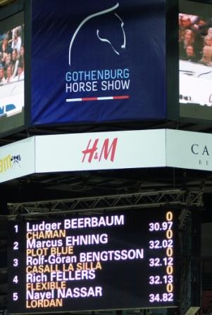 Horse Times Egypt: Equestrian Magazine :News :BEERBAUM WAS THE MAN BUT LORDAN WAS THE GOOD LUCK CHARM
