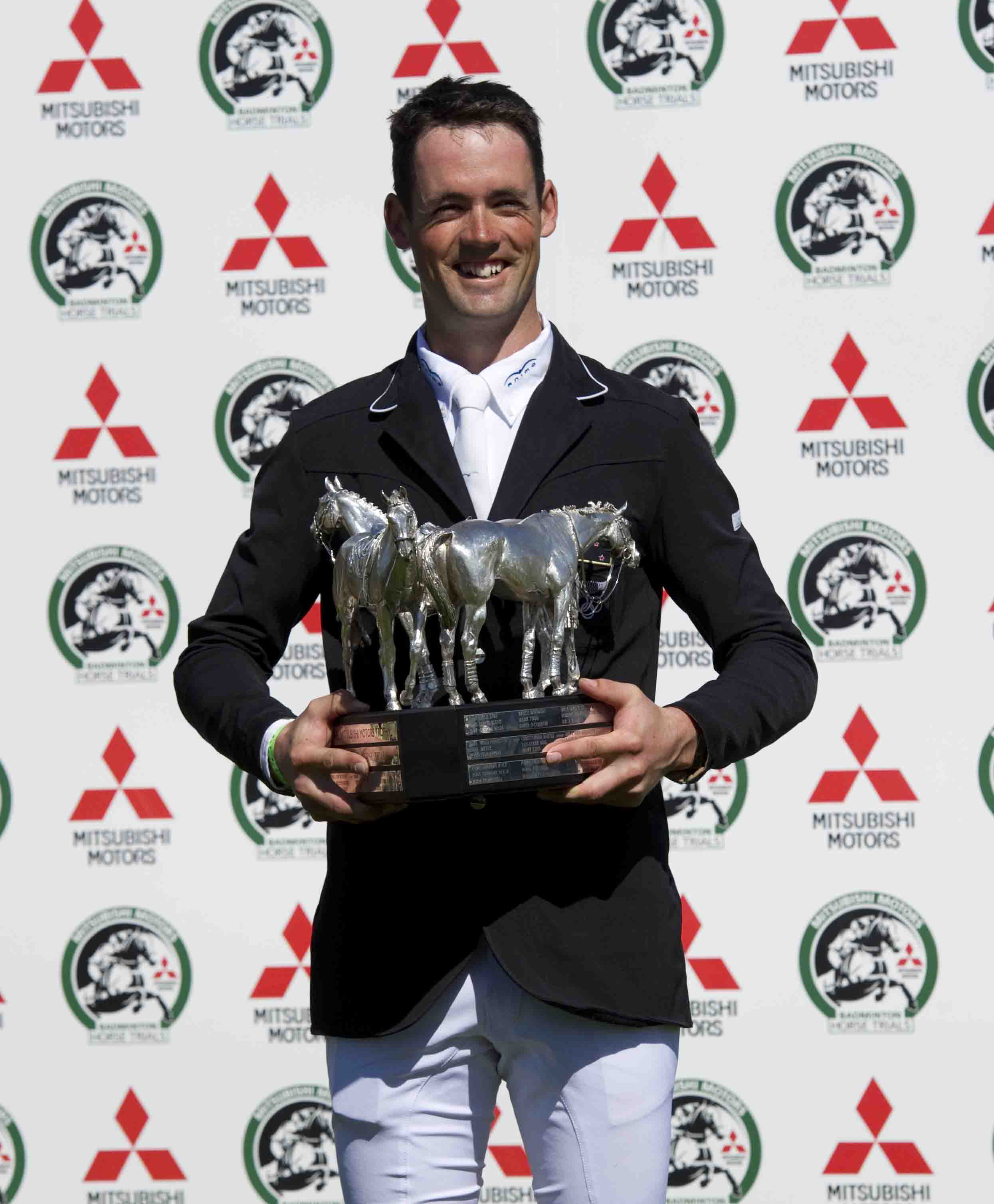 Horse Times Egypt: Equestrian Magazine :News :JONATHAN PAGET WINS THE 2013 MITSUBISHI MOTORS BADMINTON HORSE TRIALS