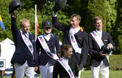 Horse Times Egypt: Equestrian Magazine :News :DUTCH MAKE IT A HAT-TRICK OF FURUSIYYA VICTORIES AT COPENHAGEN