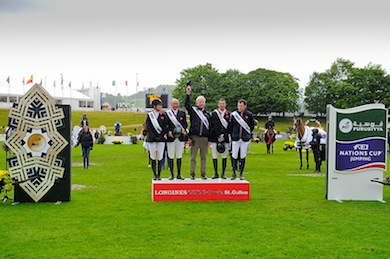 Horse Times Egypt: Equestrian Magazine :News :BRITISH WIN THIRD LEG OF FURUSIYYA EUROPE DIVISION 1 ON DRAMATIC DAY AT ST GALLEN