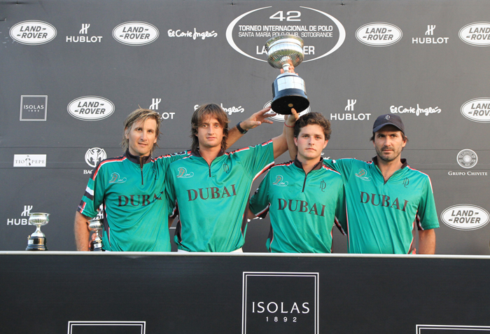 Horse Times Egypt: Equestrian Magazine :News :DUBAI POLO TEAM WINS THE BRONZE CUP