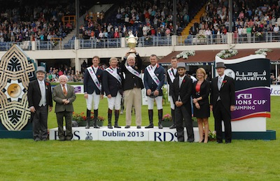 Horse Times Egypt: Equestrian Magazine :News :BRITISH WIN AT DUBLIN AS EUROPE DIVISION 1 FURUSIYYA FINAL LINE-UP IS DECIDED