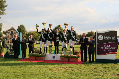 Horse Times Egypt: Equestrian Magazine :News :BRILLIANT WIN FOR BRAZIL, WHILE AUSTRIA SNATCHES LAST QUALIFYING SPOT FOR FURUSIYYA FINAL