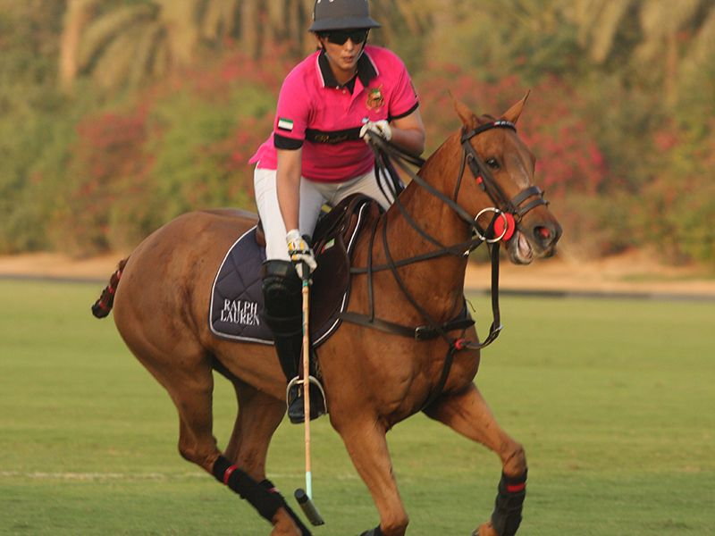 Horse Times Egypt: Equestrian Magazine :News :UAE TEAM VICTORIOUS IN RALPH LAUREN LADIES TOURNAMENT IN DUBAI