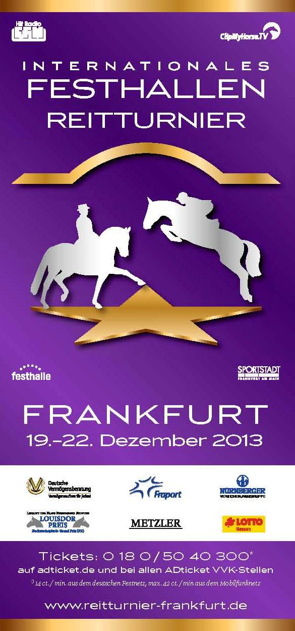 Horse Times Egypt: Equestrian Magazine :News :2013 INTERNATIONAL FESTHALLEN RIDING TOURNAMENT, FRANKFURT