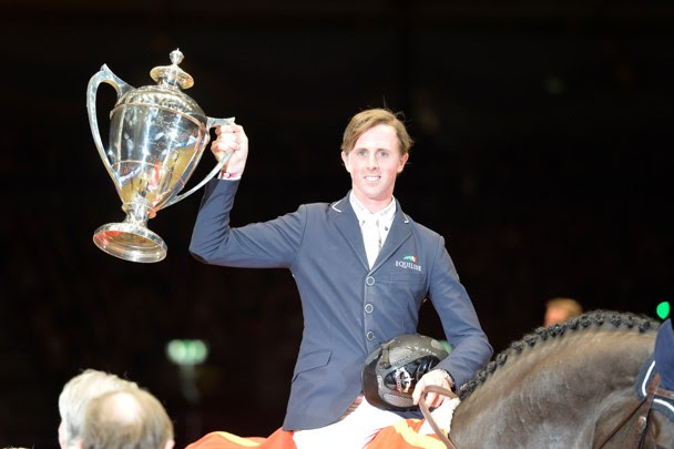 Horse Times Egypt: Equestrian Magazine :News :BEN MAHER PROVES HE STILL HAS THE X-FACTOR AT THE 2013 OLYMPIA HORSE SHOW