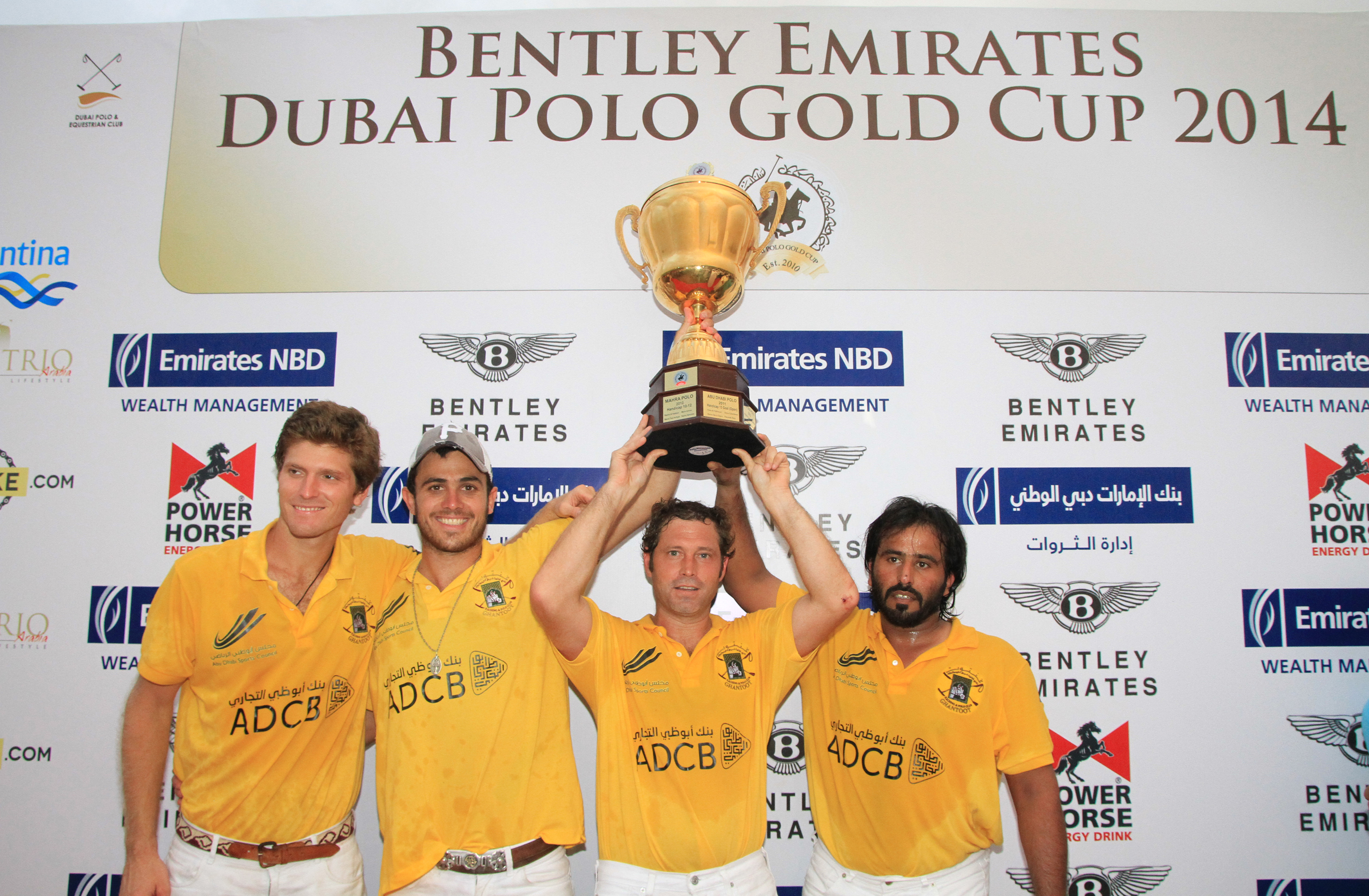 Horse Times Egypt: Equestrian Magazine :News :GHANTOOT ADCB WINS THE BENTLEY EMIRATES GOLD CUP