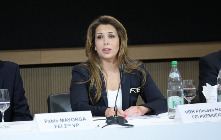 Horse Times Egypt: Equestrian Magazine :News :PRINCESS HAYA SIGNALS INTENTION TO STAND FOR RE-ELECTION AS FEI PRESIDENT