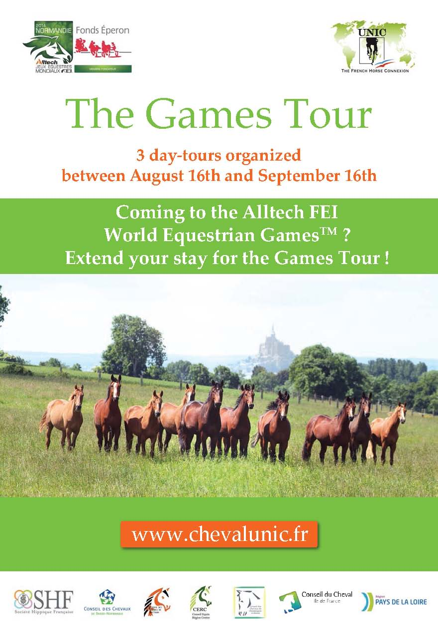 Horse Times Egypt: Equestrian Magazine :News :COMING TO THE ALLTECH FEI WORLD EQUESTRIAN GAMES? EXTEND YOUR STAY FOR THE GAMES TOUR!