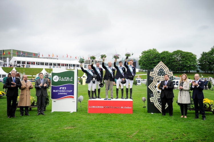 Horse Times Egypt: Equestrian Magazine :News :BRITISH PIP SPANISH IN CLOSE-FOUGHT FIGHT FOR FURUSIYYA HONOURS AT ST GALLEN