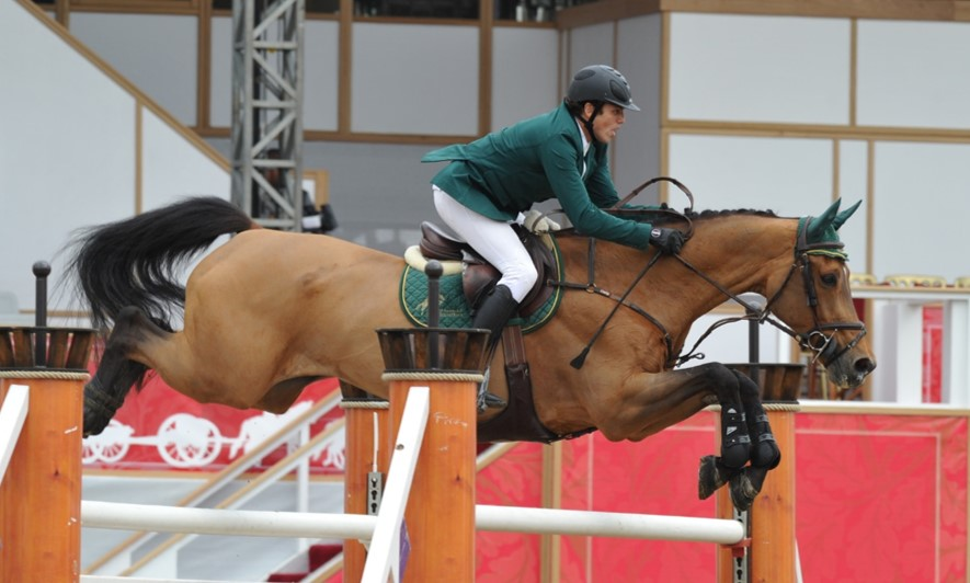 Horse Times Egypt: Equestrian Magazine :News :SHARBATLY SUCCESS CONTINUES IN SHANGHAI