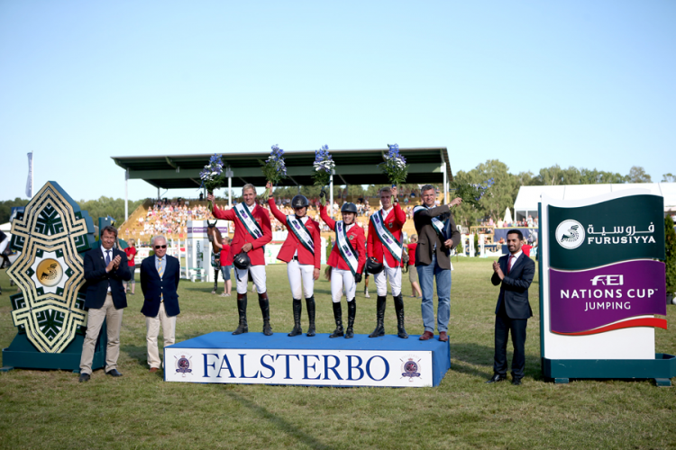 Horse Times Egypt: Equestrian Magazine :News :SURPRISE WIN FOR GERMANY IN GRIPPING FURUSIYYA QUALIFIER AT FALSTERBO
