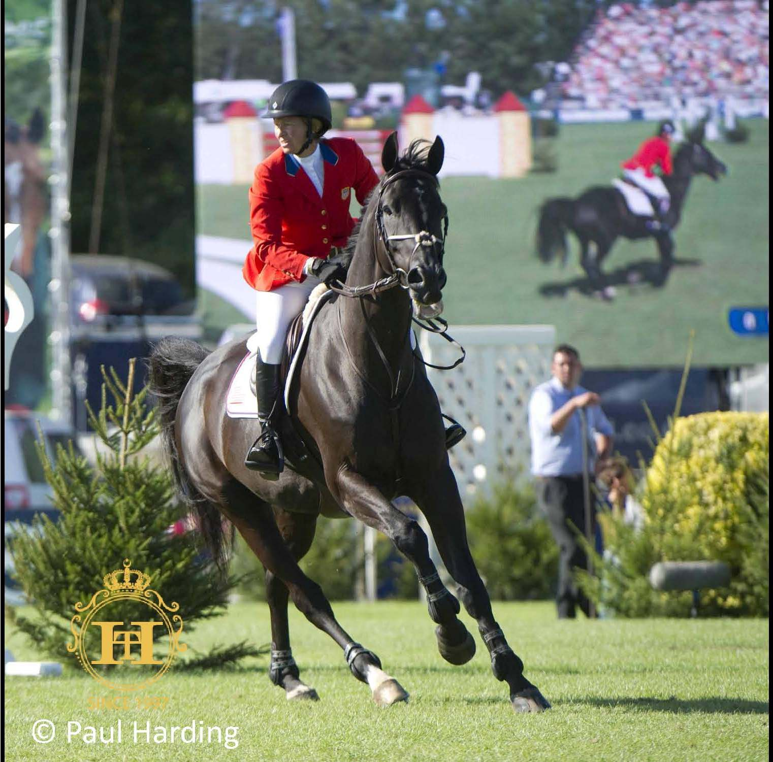 Horse Times Egypt: Equestrian Magazine :News :BEEZIE MADDEN MAKES HISTORY IN 2014 AT HICKSTEAD