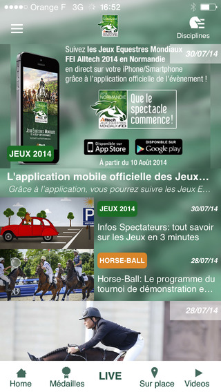 Horse Times Egypt: Equestrian Magazine :News :ALLTECH FEI WORLD EQUESTRIAN GAMES MOBILE APPLICATION NOW AVAILABLE