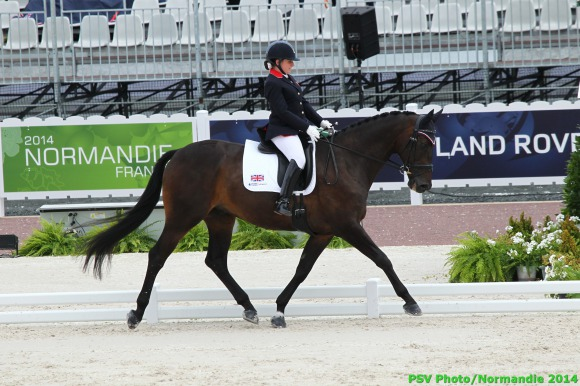 Horse Times Egypt: Equestrian Magazine :News :BRITS RULE THE ROOST ONCE MORE IN GRADE II COMPETITION OF THE ALLTECH FEI WORLD EQUESTRIAN GAMES 2014 IN NORMANDY