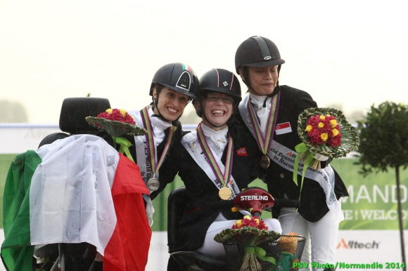 Horse Times Egypt: Equestrian Magazine :News :CHRISTIANSEN WINS HER FOURTH WORLD TITLE IN PARA-DRESSAGE AT THE ALLTECH FEI WORLD EQUESTRIAN GAMES 2014 IN NORMANDY