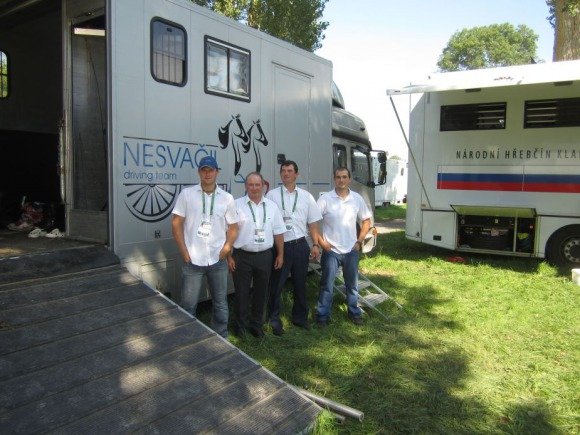 Horse Times Egypt: Equestrian Magazine :News :TRAVELING LIGHT TO THE ALLTECH FEI WORLD EQUESTRIAN GAMES WAS NOT THE WAY TO GO FOR THE CZECH NESVACIL FAMILY