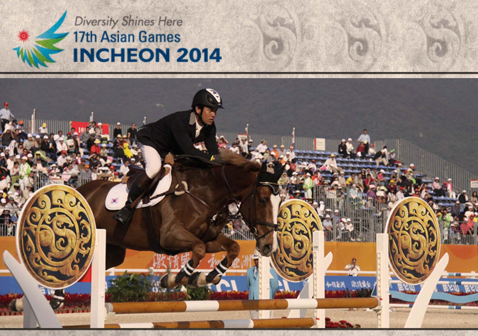 Horse Times Egypt: Equestrian Magazine :News :2014 ASIAN GAMES - 17TH EDITION IN INCHEON, SOUTH KOREA
