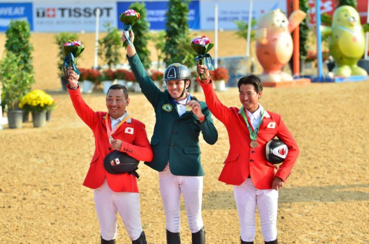 Horse Times Egypt: Equestrian Magazine :News :QATAR TAKES TEAM GOLD; SAUDI ARABIA'S AL SHARBATLY CLAIMS INDIVIDUAL JUMPING TITLE AT THE ASIAN GAMES 2014