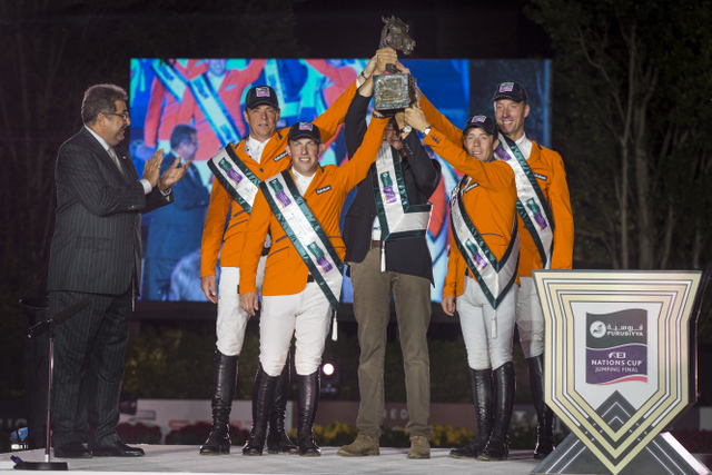 Horse Times Egypt: Equestrian Magazine :News :THE FLYING DUTCHMEN TAKE THE 2014 FURUSIYYA TITLE BY STORM