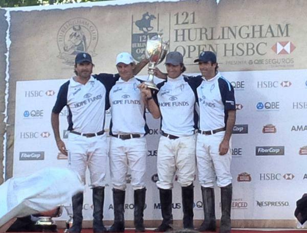 Horse Times Egypt: Equestrian Magazine :News :LA DOLFINA CONTINUES TO DOMINATE IN 18-15 HURLINGHAM POLO OPEN WIN