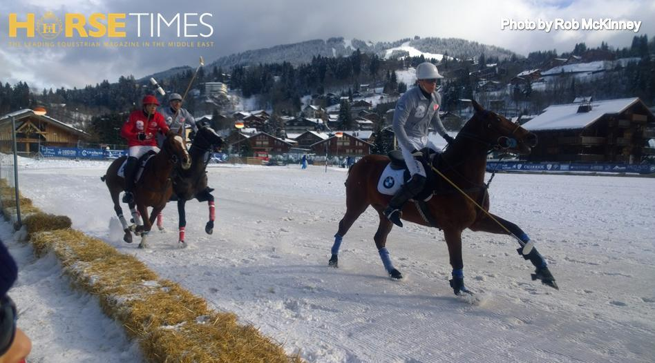 Horse Times Egypt: Equestrian Magazine :News :SNOW POLO IN MEGEVE - 20TH BMW POLO MASTERS