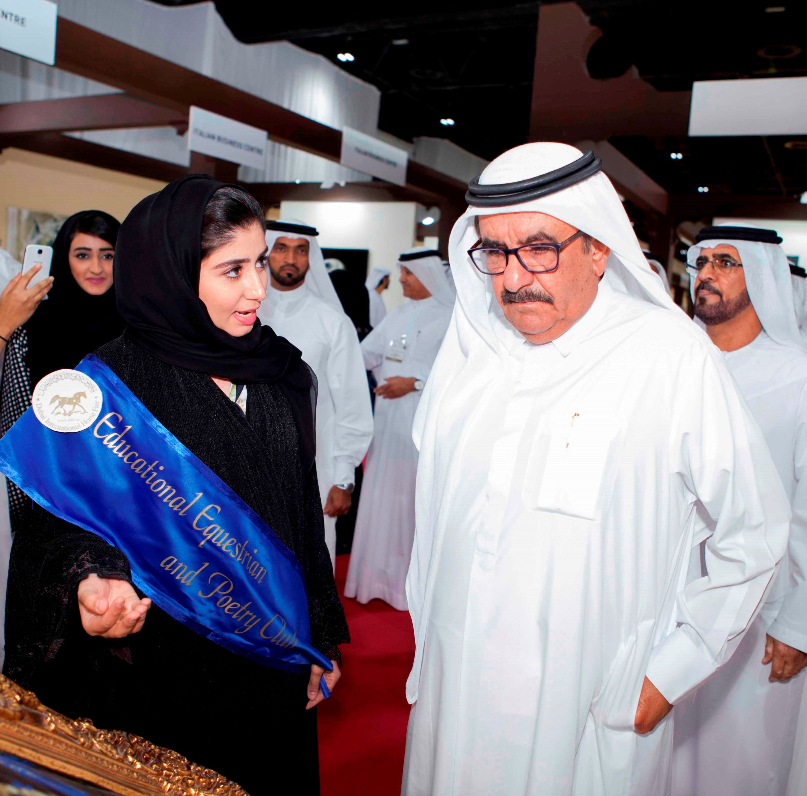 Horse Times Egypt: Equestrian Magazine :News :HH SHEIKH HAMDAN BIN RASHID AL MAKTOUM INAUGURATES THE 2015 DUBAI INTERNATIONAL ARABIAN HORSE CHAMPIONSHIP AND FAIR