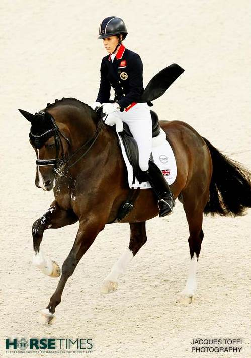 Horse Times Egypt: Equestrian Magazine :News :DUJARDIN AND VALEGRO MAKE IT A DELIGHTFUL DOUBLE OF REEM ACRA TITLES AT THE 2015 DRESSAGE WORLD CUP IN LAS VEGAS