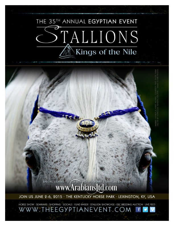 Horse Times Egypt: Equestrian Magazine :News :EGYPTIAN ARABIAN HORSES RETURN FOR THE 35th YEAR TO THE KENTUCKY HORSE PARK