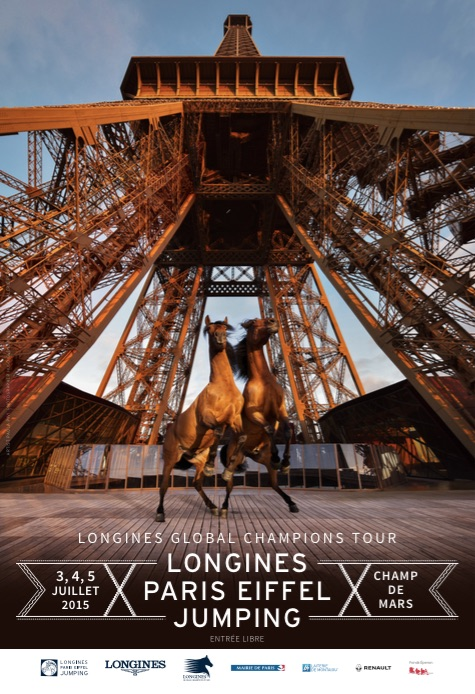 Horse Times Egypt: Equestrian Magazine :News :STAR LINE-UP FOR ICONIC LONGINES GLOBAL CHAMPIONS TOUR - LONGINES PARIS EIFFEL JUMPING