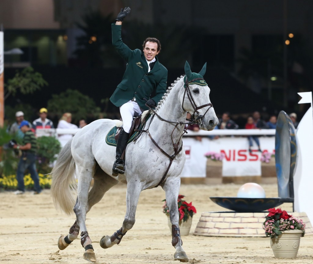 Horse Times Egypt: Equestrian Magazine :News :SAUDI EQUESTRIAN'S TOP HORSE 'SULTAN V' RETIRES