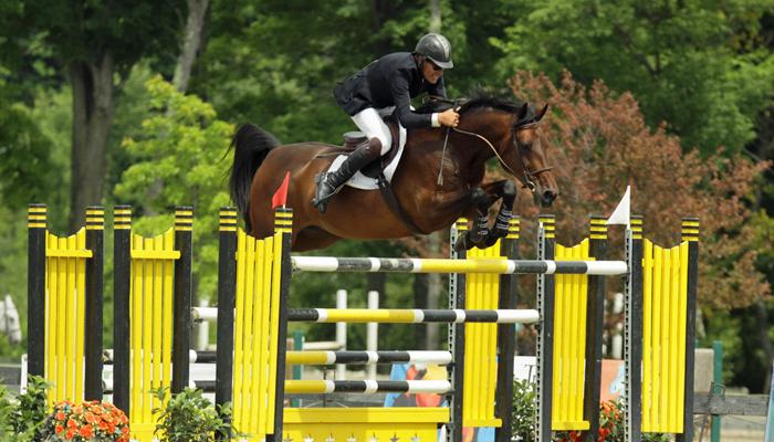 Horse Times Egypt: Equestrian Magazine :News :IAN SILITCH RIDES TO ONE-TWO FINISH IN $30,000 MOUNT EQUINOX GRAND PRIX