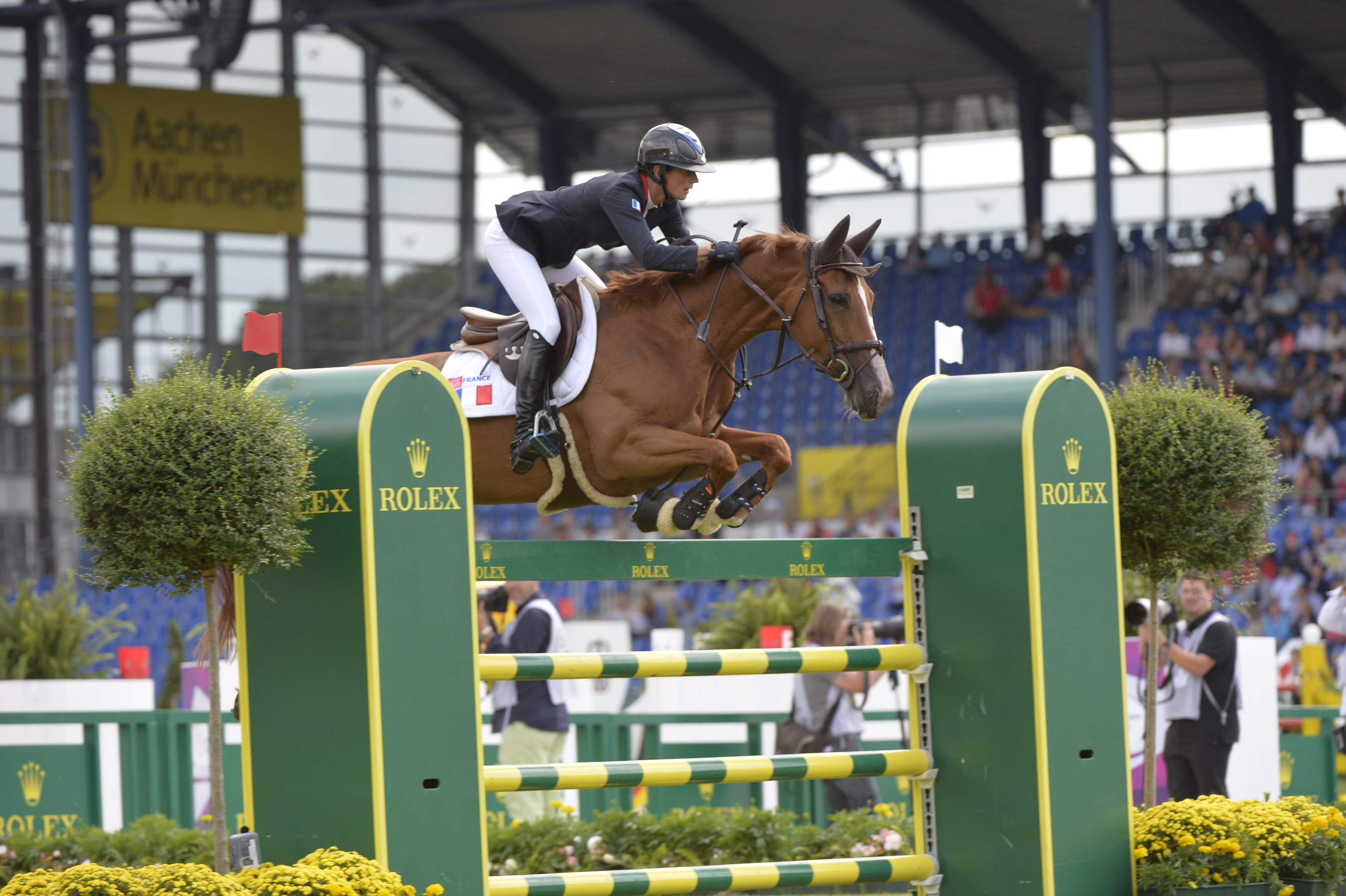 Horse Times Egypt: Equestrian Magazine :News :PENELOPE LEPREVOST (FRA) TAKES AN EARLY LEAD IN THE INDIVIDUAL COMPETITION AT THE FEI EUROPEAN CHAMPIONSHIPS, GERMANY LEADS THE TEAM COMPETITION