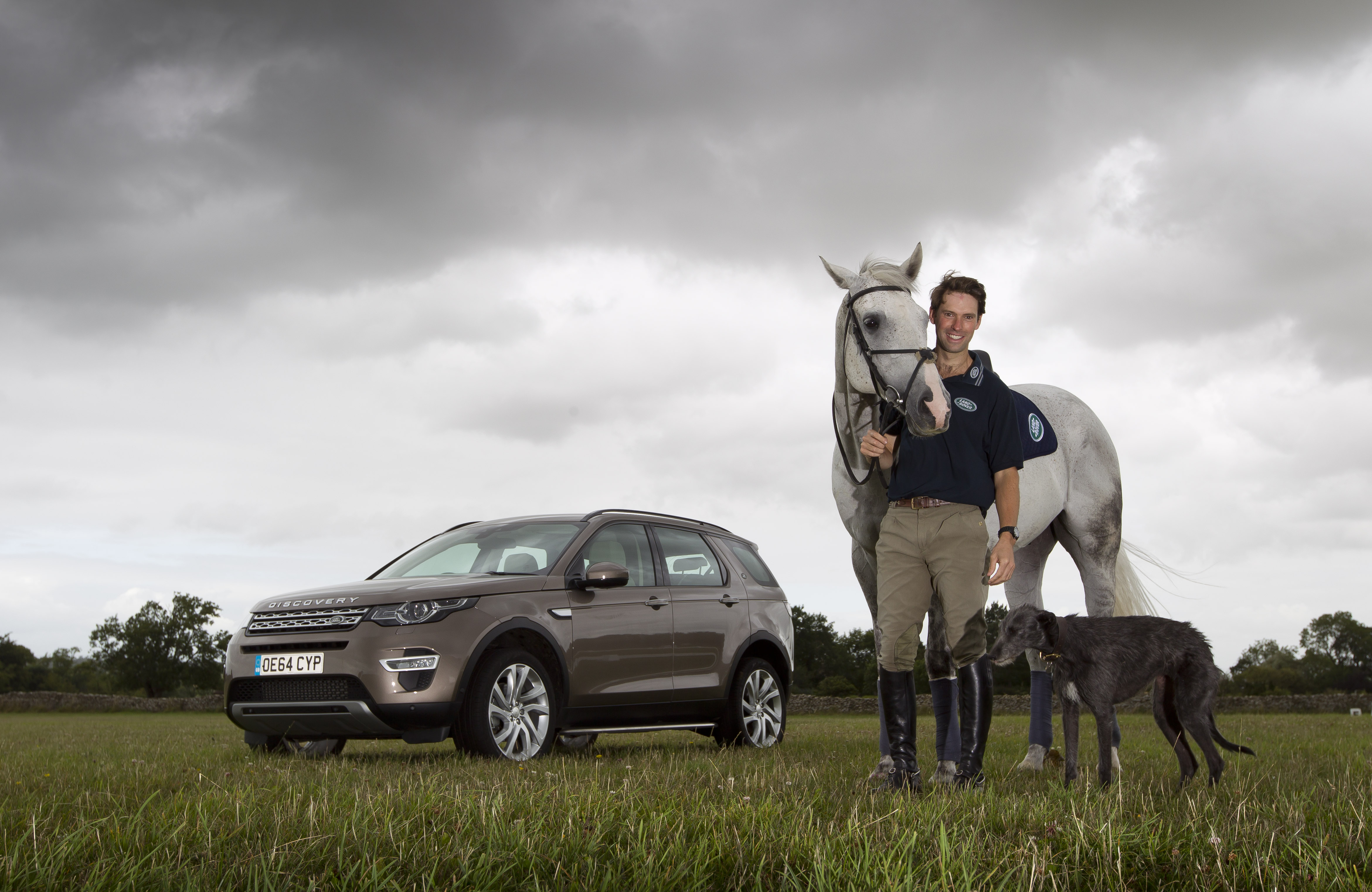Horse Times Egypt: Equestrian Magazine :News :LAND ROVER ANNOUNCES HARRY MEADE AS NEW EQUESTRIAN AMBASSADOR