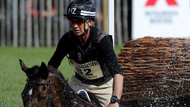 Horse Times Egypt: Equestrian Magazine :News :Andrew Nicholson 'lucky not to be paralysed' in fall