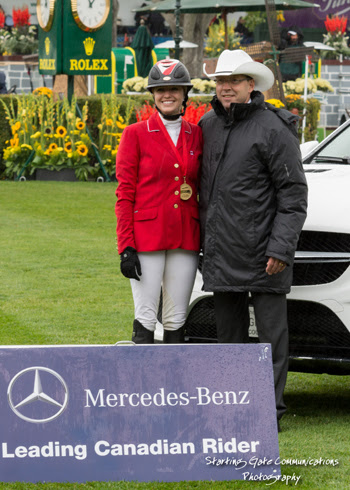 Horse Times Egypt: Equestrian Magazine :News :Tiffany Foster Crowned Mercedes-Benz Leading Canadian Rider